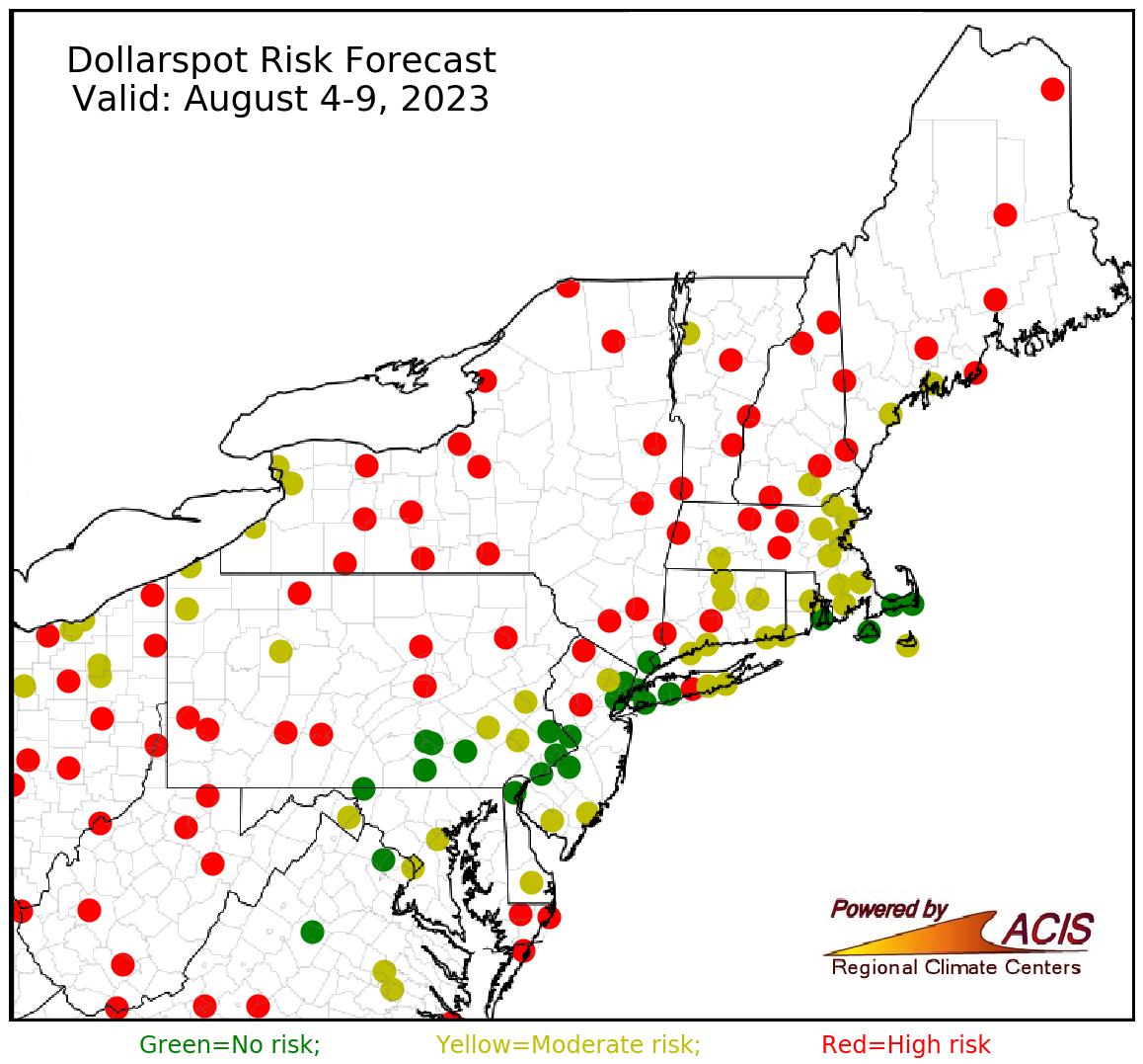 dollarspot forecast