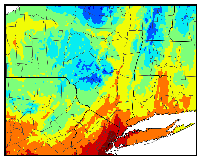 Eastern NY gdd accumulation map