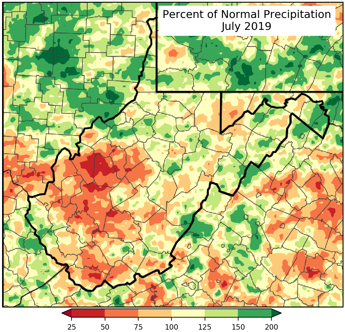 Monthly Percent of Normal