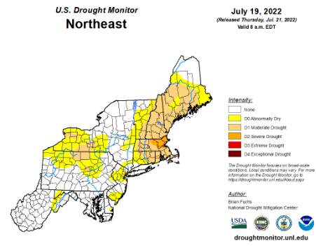 NRCC Drought Page - Us drought map forecast