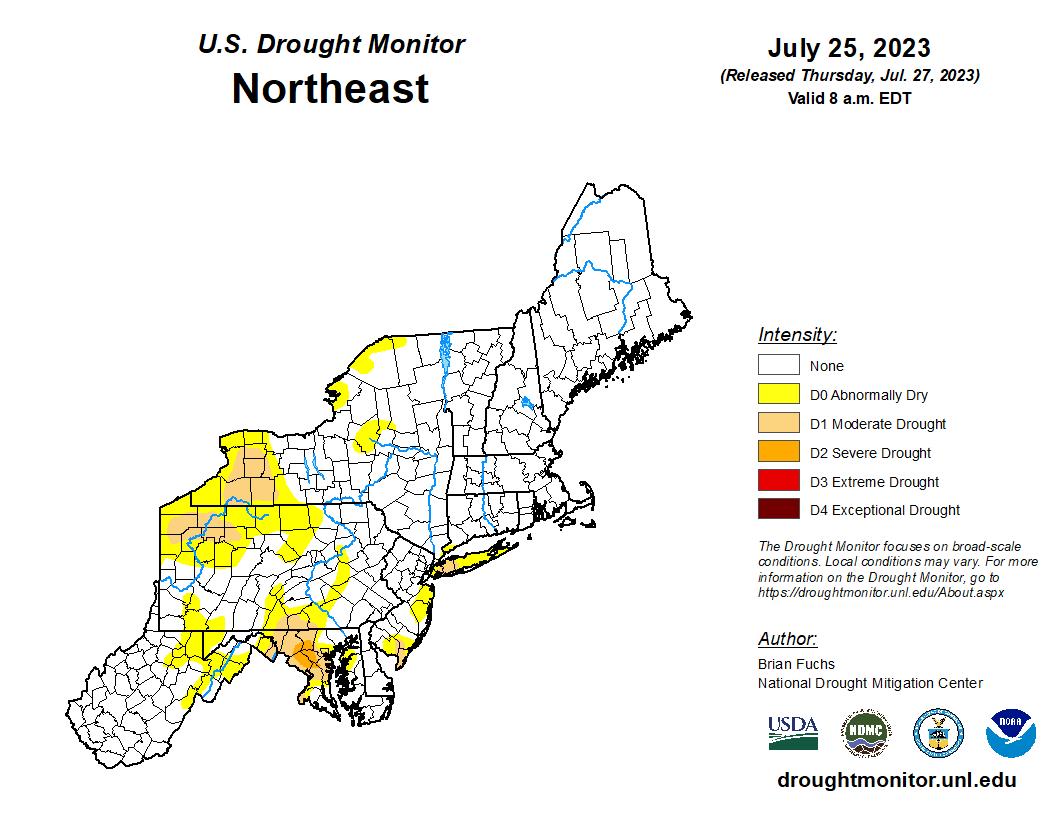NRCC Drought Page