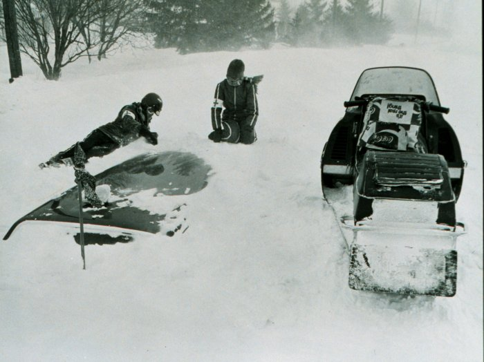 How did the blizzard of 77 happen dating