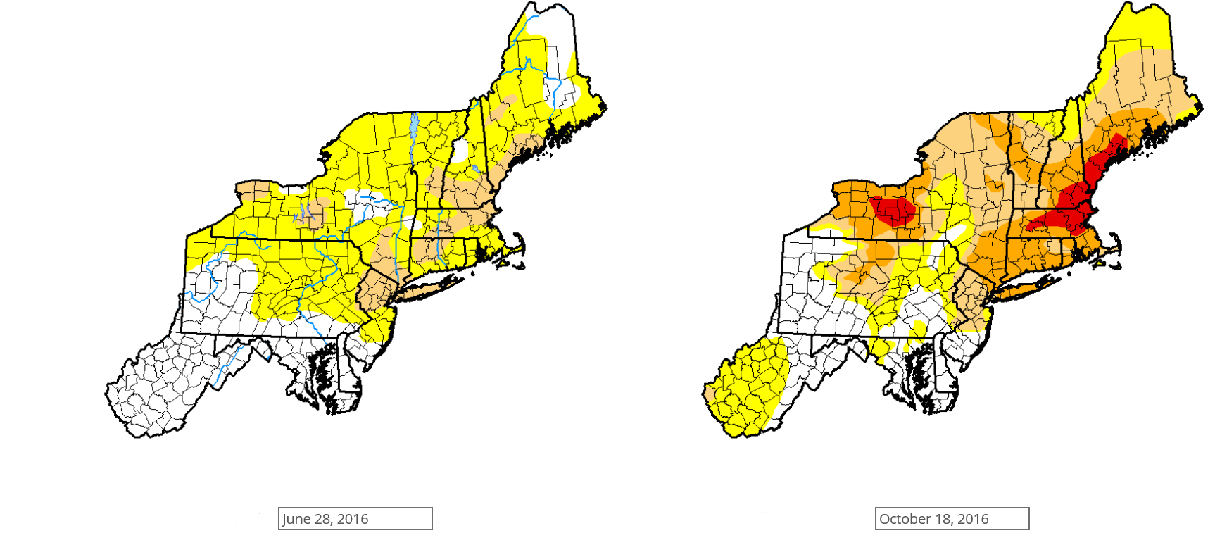 How are Drought Conditions Classified?
