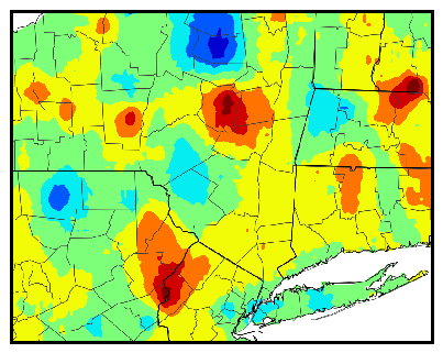 Eastern NY gdd difference map