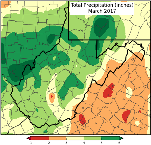 Monthly Precipitation Total